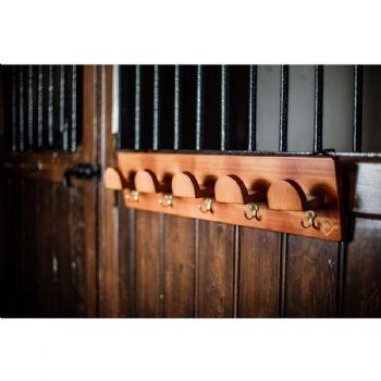 Kentucky Grooming Deluxe Wooden Bridle Rack
